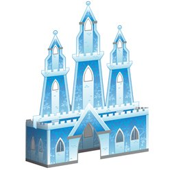 Snow Queen 3D Castle Centrepiece
