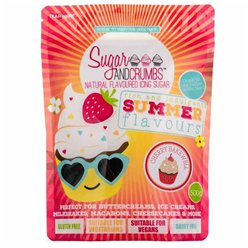 Sugar & Crumbs Cherry Bakewell Icing Sugar - 500g