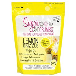 Sugar & Crumbs Lemon Drizzle Icing Sugar - 500g