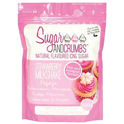 Sugar & Crumbs Strawberry Milkshake Icing Sugar - 500g