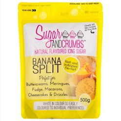 Sugar & Crumbs Banana Split Icing Sugar - 500g