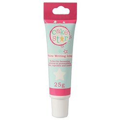 Cake Star White Icing Writing - 25g
