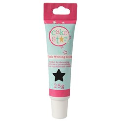 Cake Star Black Icing Writing - 25g