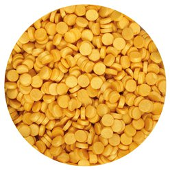 Gold Shimmer Edible Cake Confetti - 70g