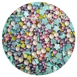 Mermaid Edible Cake Sprinkles - 100g