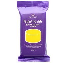 Ready to Roll Yellow Icing - 250g