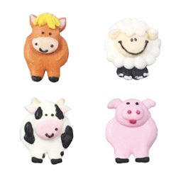 Farmyard Sugar Toppers