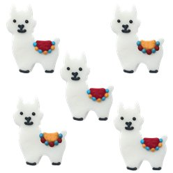 Llama Sugar Toppers - Cake Decorations