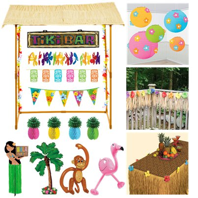 Summer Party Garden Decorating Kit