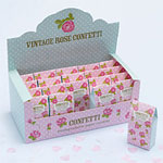 Shabby Chic Rose Tissue Confetti - Biodegradable