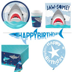 Shark Party Deluxe Party Pack