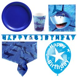 Shark Splash Deluxe Party Pack