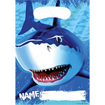 Shark Splash Party Bags - Plastic Loot Bags