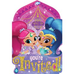 Shimmer & Shine Invites - Party Invitation Cards