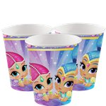 Shimmer & Shine Cups - 266ml Paper Party Cups