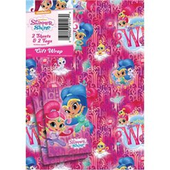 Shimmer & Shine Wrapping Paper & Tags