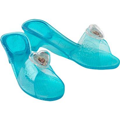 d9bc7d556 Elsa Jelly Shoes - Disney Princess Fancy Dress Accessories front