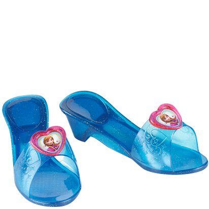 Disney Frozen Anna Jelly Shoes front