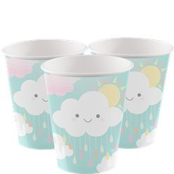 Sunshine Baby Showers Paper Cups - 256ml
