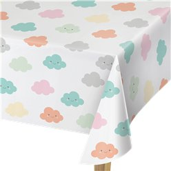 Sunshine Baby Showers Plastic Tablecover - 1.3 x 2.5m