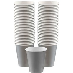 Silver Cups - 340ml Paper Coffee Cups