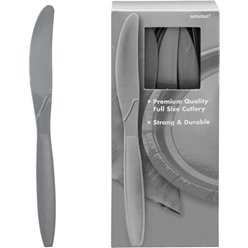 Silver Reusable Knives - 100pk