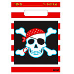 Pirate Party Bags - Plastic Loot Bags