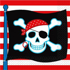 Pirate Skull Napkins - 2ply Paper