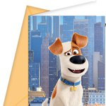 The Secret Life of Pets Invites - Party Invitation Cards
