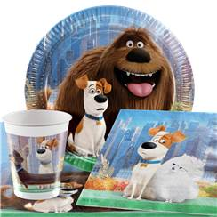 Secret Life of Pets Party Pack - Value Pack for 8