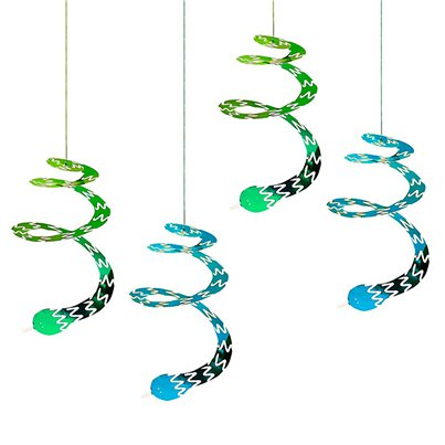 Snappy Swirly Hanging Snakes