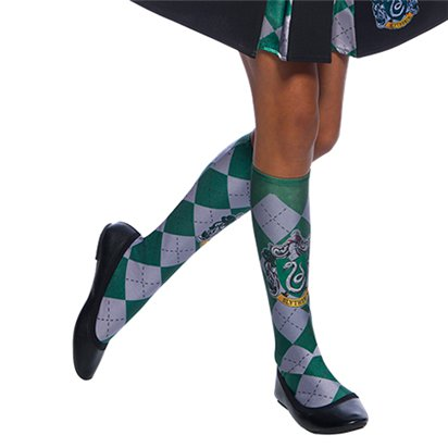 Slytherin Socks - Harry Potter Accessories - Kids One Size front