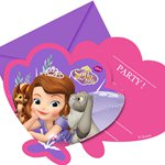 Sofia the First Invites - Party Invitation Cards