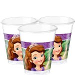 Sofia the First Plastic Party Cups - 200ml