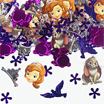 Sofia the First Table/Invite Confetti