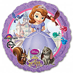 "Sofia the First Purple Balloon - 18"" Foil"