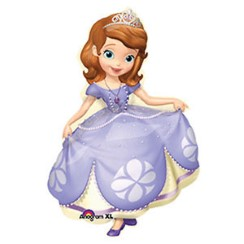 "Sofia the First Supershape Balloon - 35"" Foil"