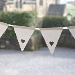 Something in the Air Mini Wedding Bunting