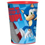 Sonic The Hedgehog Plastic Favour Cup - 455ml