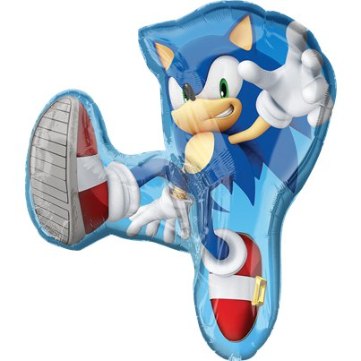 "Sonic The Hedgehog SuperShape Balloon - 33"" Foil"