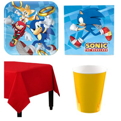 Sonic The Hedgehog Party Pack - Value Pack For 8