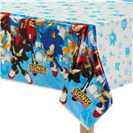 Sonic The Hedgehog Plastic Tablecover - 1.3m x 2.4m