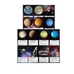 Space Blast Party Fun Fact Cards - Party Favours