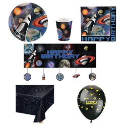Space Blast Party Pack - Deluxe Pack For 8