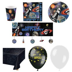 Space Blast Party Pack - Deluxe Pack For 16