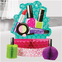 Sparkle Spa Party Honeycomb Centrepiece Set