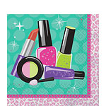 Sparkle Spa Party Luncheon Napkins - 2ply Paper