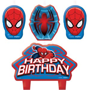 Spider-Man Candles