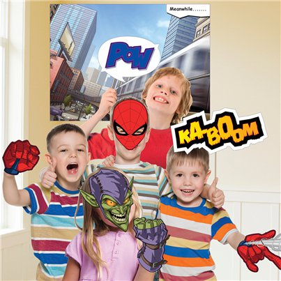 Spider-Man Photo Booth Kit