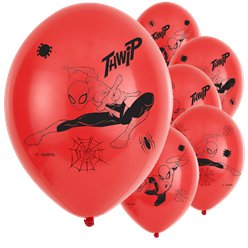 "Spiderman Team Up Balloons - 11"" Latex"